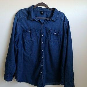 Blue Jean denim shirt